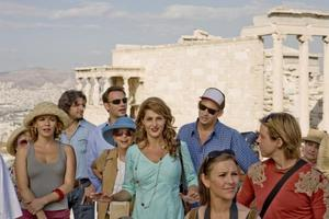 "Rachel Dratch, Nia Vardalos and Harland Williams in ""My Life In Ruins."""