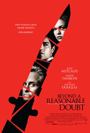 "Poster art for ""Beyond a Reasonable Doubt."""