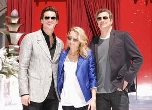 """Jim Carrey, Robin Wright Penn and Colin Firth at the photocall of """"Disney's A Christmas Carol"""" during the 62nd Annual Cannes Film Festival."""