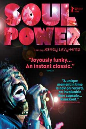 """Poster art for """"Soul Power."""""""