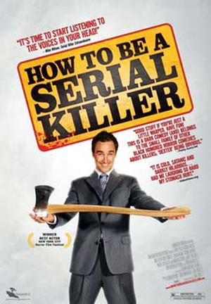 "Poster art for ""How to Be a Serial Killer."""