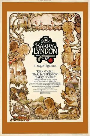 "Poster art for ""Barry Lyndon."""