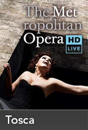 "Poster art for ""The Metropolitan Opera: Tosca Encore II."""