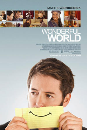 "Poster art for ""Wonderful World."""