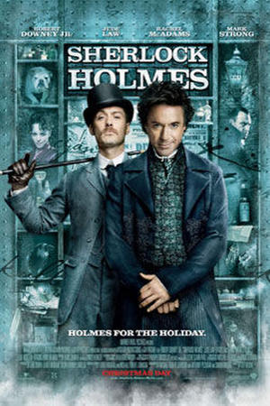 """Poster art for """"Sherlock Holmes."""""""