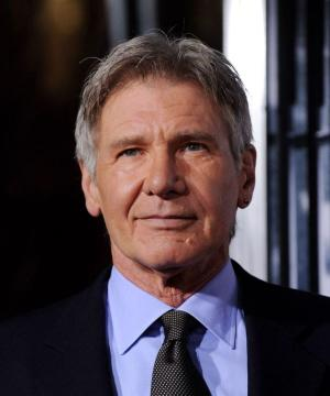 "Harrison Ford at the California premiere of ""Extraordinary Measures."""