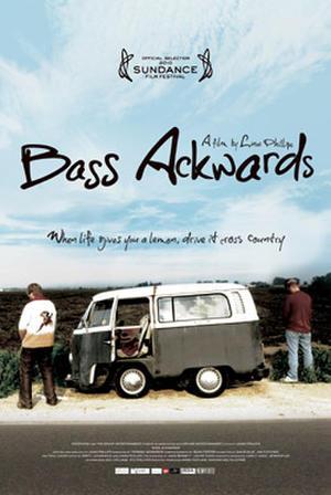 "Poster art for ""Bass Ackwards."""
