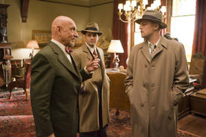"Ben Kingsley, Mark Ruffalo and Leonardo DiCaprio in ""Shutter Island."""