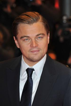 "Leonardo DiCaprio at the Berlin premiere of ""Shutter Island."""