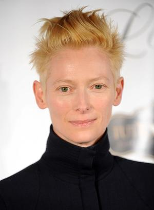 "Tilda Swinton at the New York premiere of ""I Am Love."""