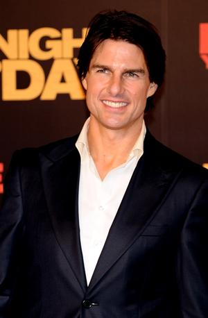 "Tom Cruise at the Spain premiere of ""Knight and Day."""