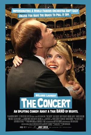 "Poster art for ""The Concert."""