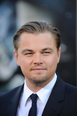 """Leonardo DiCaprio at the California premiere of """"Inception."""""""