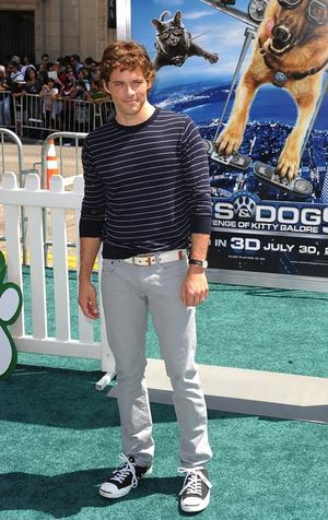 "James Marsden at the California premiere of ""Cats & Dogs: The Revenge of Kitty Galore."""