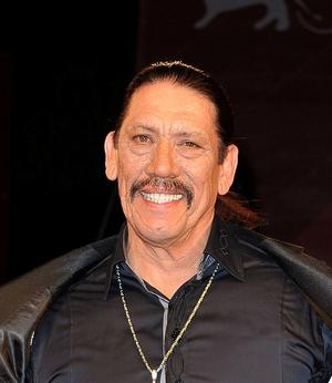 "Danny Trejo at the Italy premiere of ""Machete."""