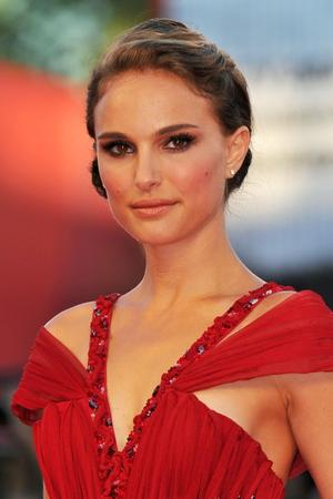 """Natalie Portman at the Italy premiere of """"Black Swan."""""""