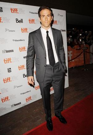 "Ryan Reynolds at the Canada premiere of ""Buried."""