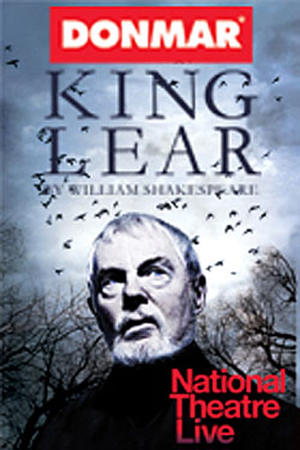 "Poster art for ""NT Live: King Lear."""