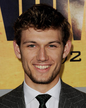 "Alex Pettyfer at the California premiere of ""I Am Number Four."""