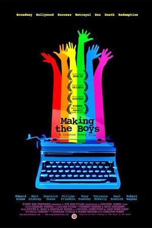 "Poster art for ""Making the Boys."""