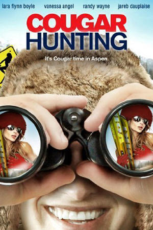 "Poster art for ""Cougar Hunting."""