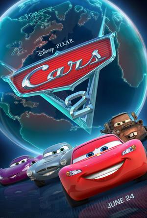 """Poster art for """"Cars 2."""""""