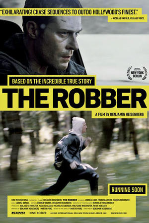 """Poster art for """"The Robber."""""""