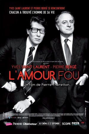"Poster art for ""L'Amour Fou."""