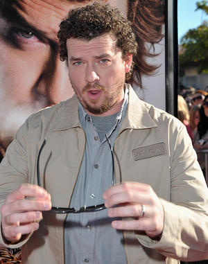 "Danny McBride at the California premiere of ""Your Highness."""