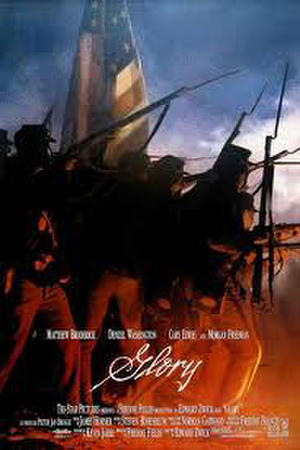 "Poster art for ""Glory."""