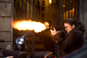 Gina Carano as Mallory Kane in ``Haywire.''