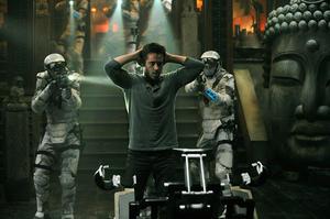"Colin Farrell in ""Total Recall."""