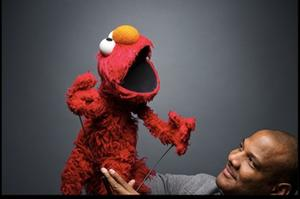 "A scene from ""Being Elmo: A Puppeteer's Journey."""