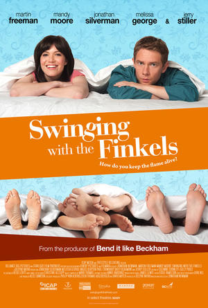 """Poster art for """"Swinging With the Finkels."""""""