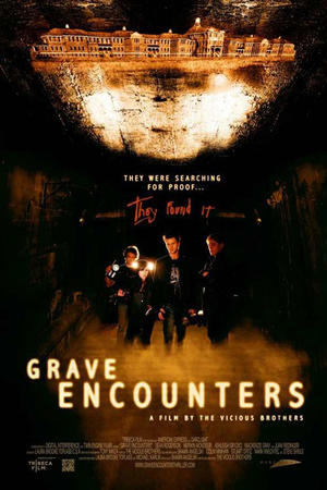 "Poster art for ""Grave Encounters."""