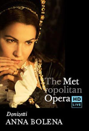 "Poster art for ""The Metropolitan Opera: Anna Bolena Encore."""