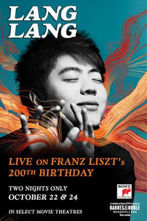 "Poster art for ""Lang Lang Live in Concert."""