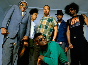 """A scene from """"Everyday Sunshine: The Story of Fishbone."""""""