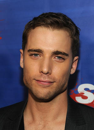 "Dustin Milligan at the California premiere of ""Shark Night."""