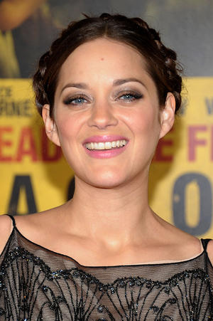 "Marion Cotillard at the New York premiere of ""Contagion."""