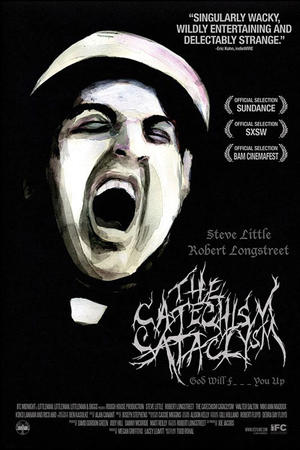 """Poster art for """"The Catechism Cataclysm."""""""