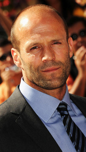 "Jason Statham at the premiere of ""Killer Elite"" during the 2011 Toronto International Film Festival."