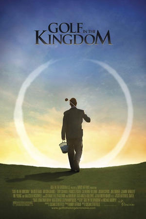 """Poster art for """"Golf in the Kingdom."""""""