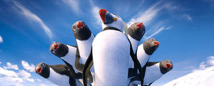 "The Mighty Sven voiced by Hank Azaria in ""Happy Feet Two."""