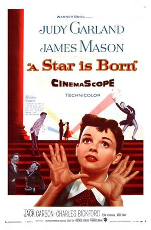 "Poster art for ""A Star is Born."""