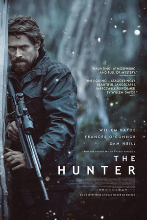 "Poster art for ""The Hunter."""