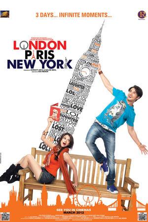 "Poster art for ""London Paris New York."""