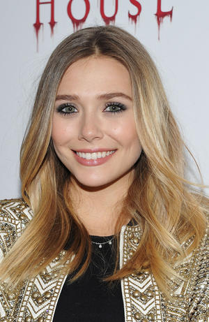 "Elizabeth Olsen at the New York premiere of ""Silent House."""