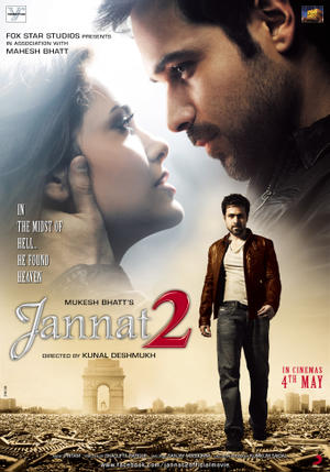 """Poster art for """"Jannat 2."""""""