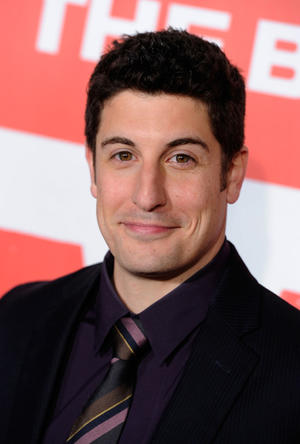"Jason Biggs at the California premiere of ""American Reunion."""